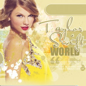 TaylorSwiftWorld.org Up for adoption